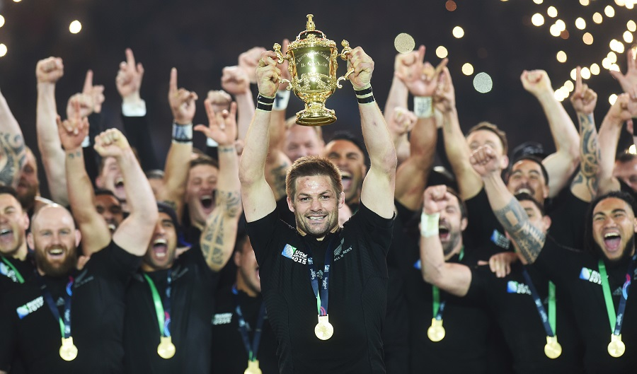 RUGBY - All Blacks World Cup