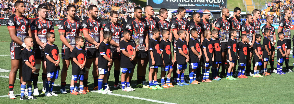 Vodafone Warriors Lineup