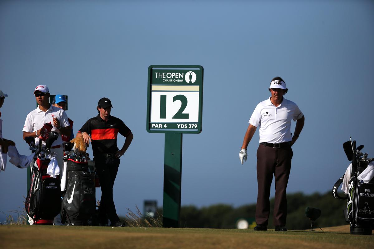 Golf - Brititsh open main