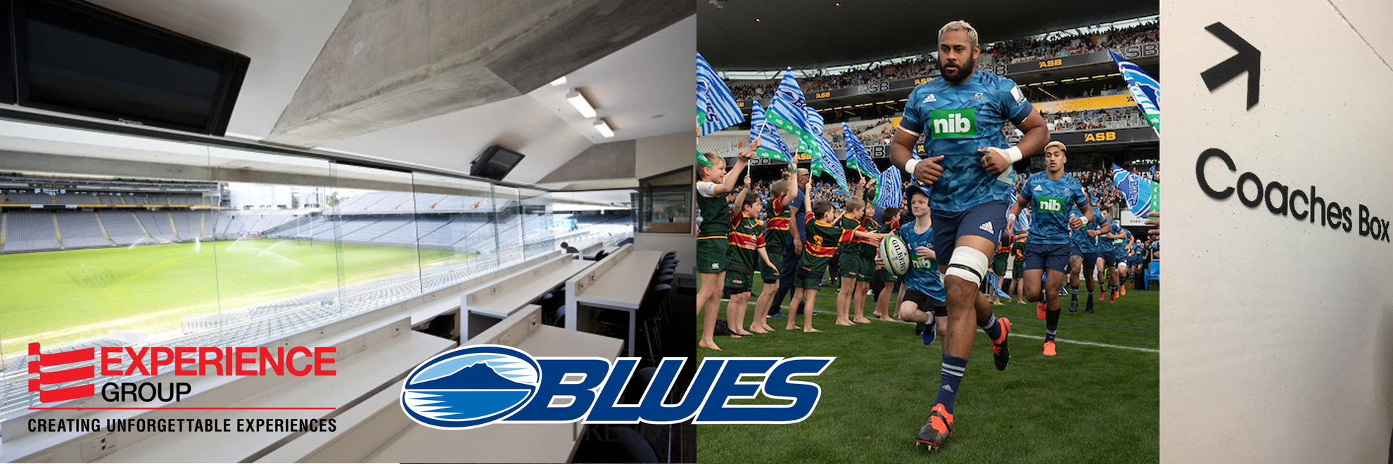 Blues Coaches Box - Experience Group