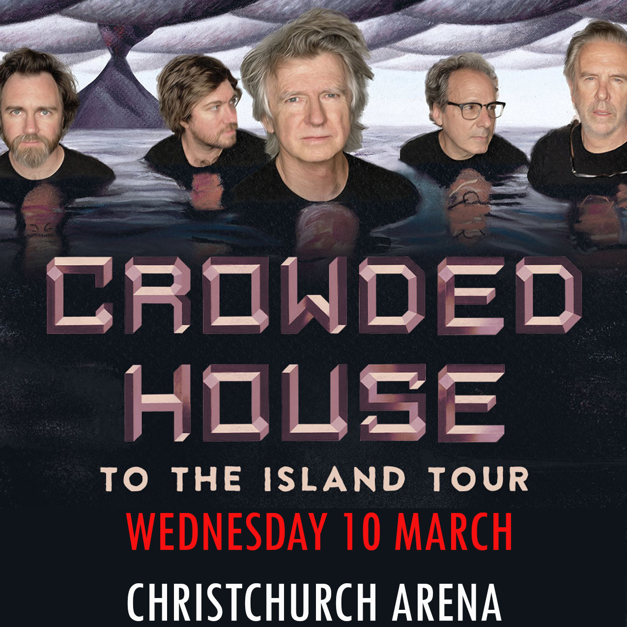 Crowded House Banner