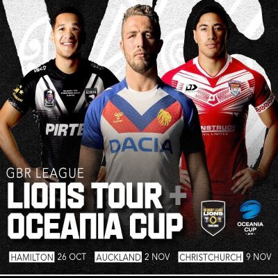 GBRL Lions & Oceania Tour 2019