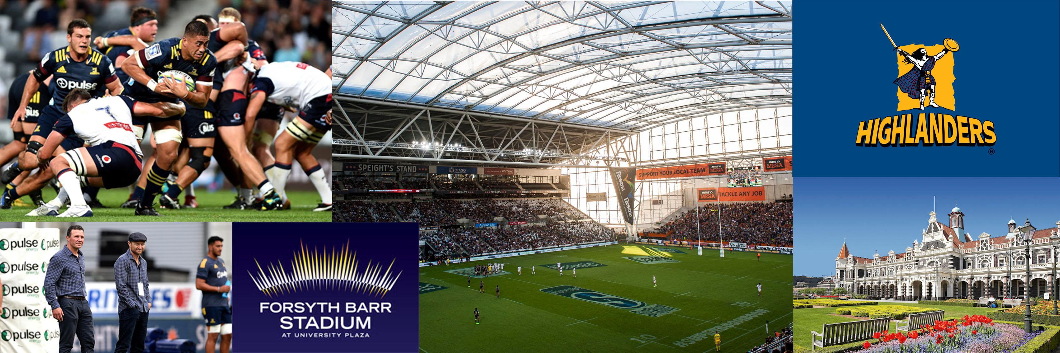 Highlanders & Forsyth Barr Stadium Experience 1250x450