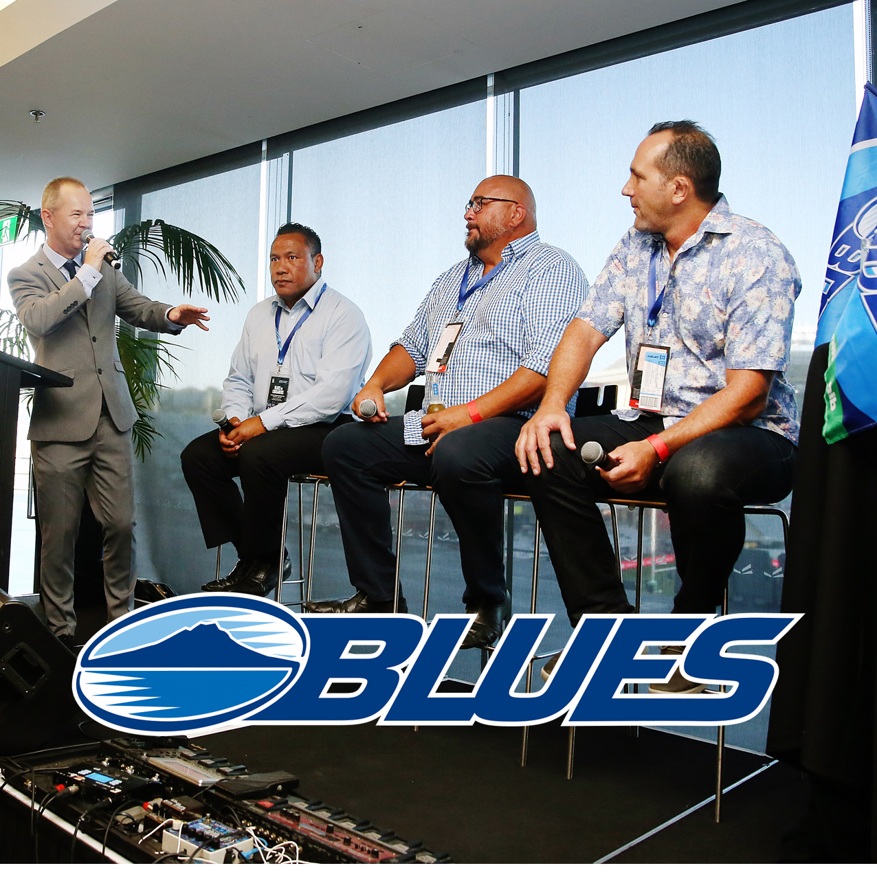 Blues Premier Lounge Guest Speakers