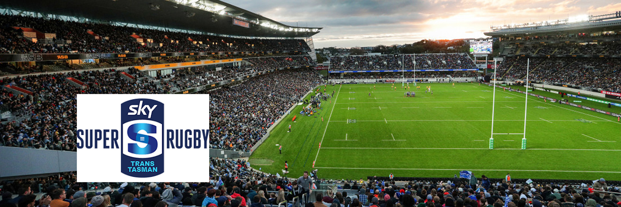Sky Trans Tasman Super Rugby 2021 - Experience Group Hospitality Banner