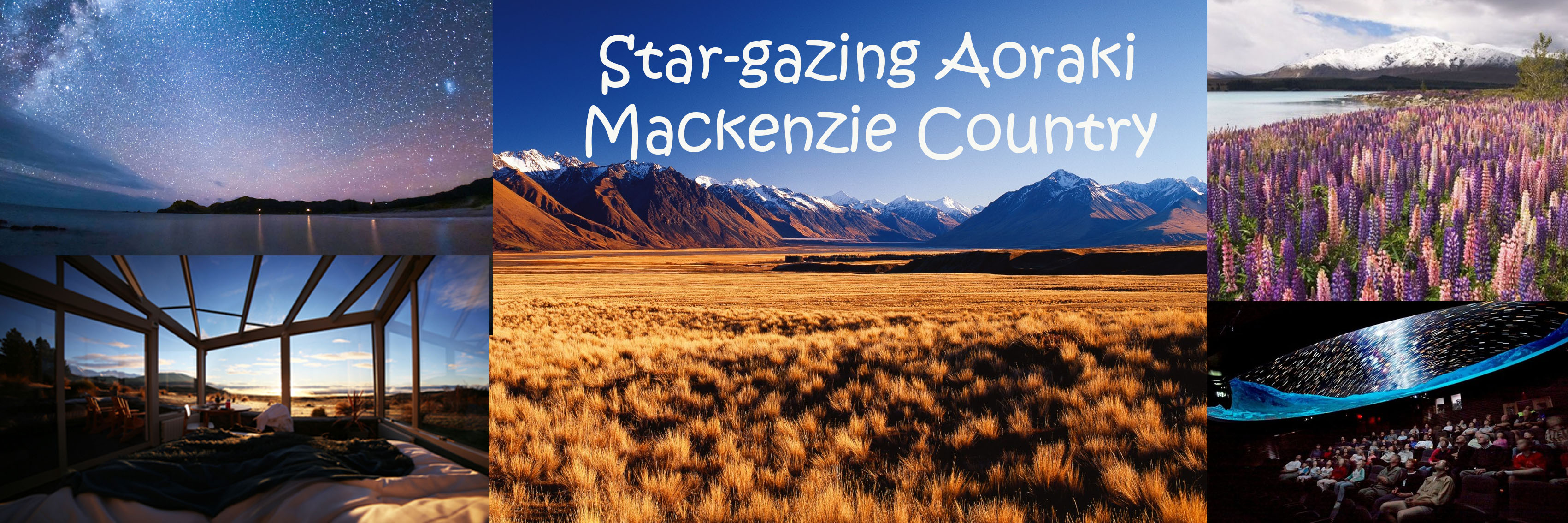 Stargazing Mackenzie Country 1250x450
