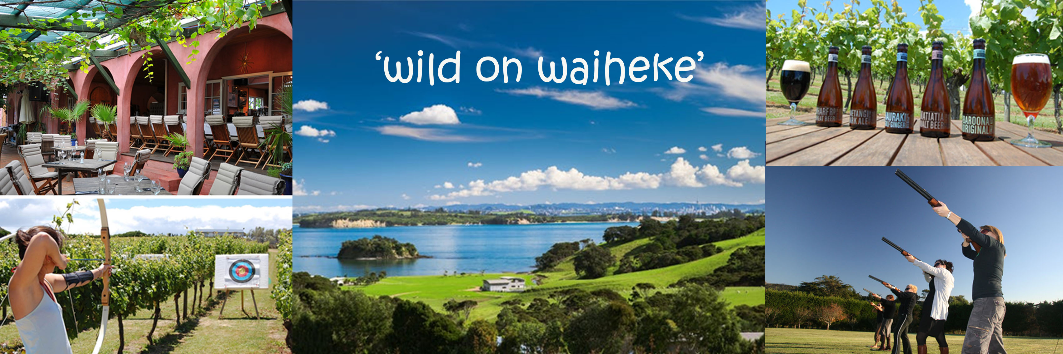 Experience Waiheke Island 1250x450