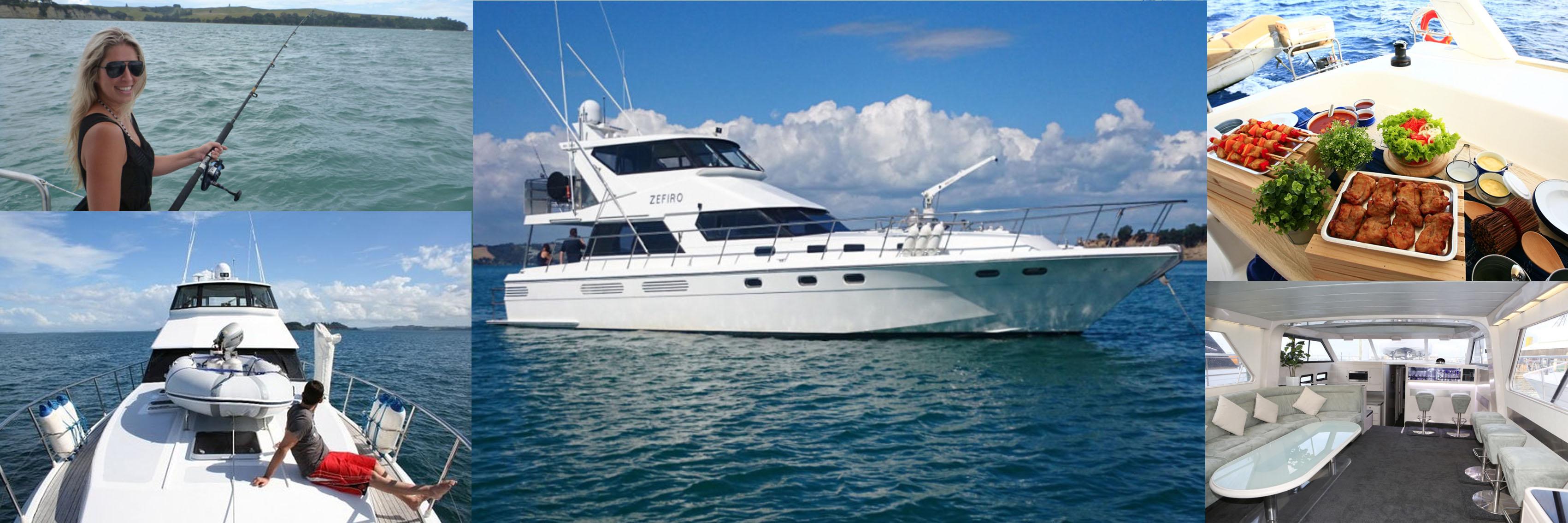 Cruise the Hauraki Gulf by Experience Group 1250x450